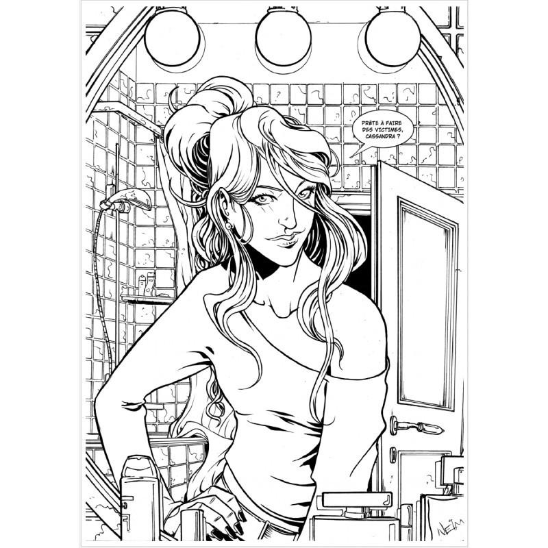 Affiche Cassandra (réf. Cassandra 2)