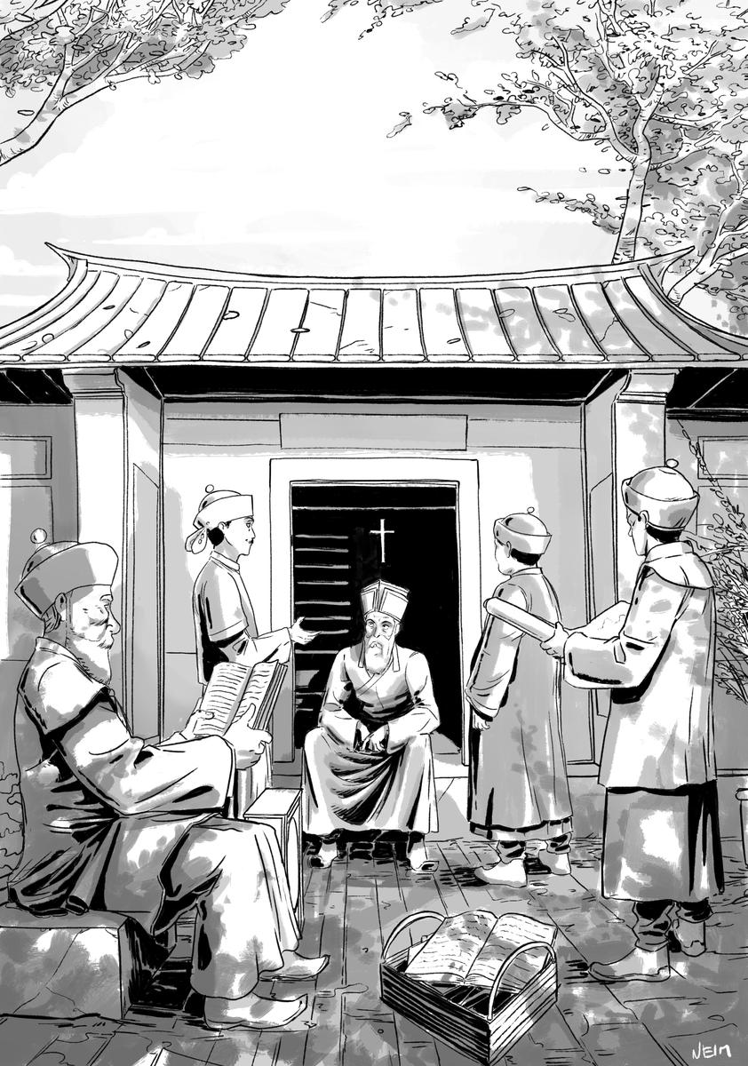 Sur les pas de Matteo Ricci, avec ses disciples