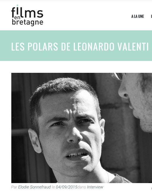 Revue de Presse – Les Polars de Leonardo Valenti