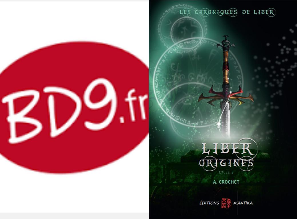 Le cycle 3 des Chroniques de Liber, d'A. CROCHET présenté par labandedu9.fr