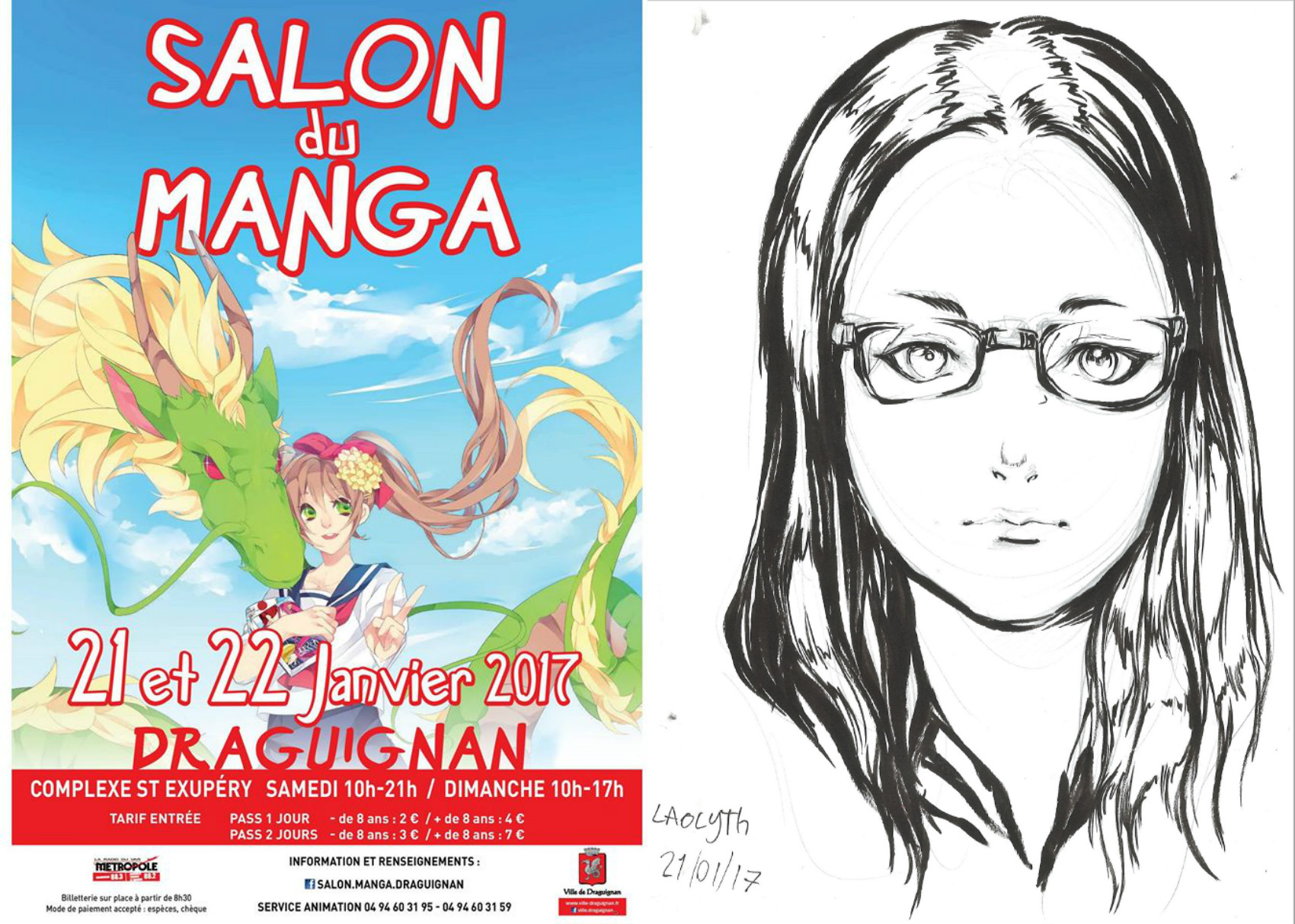 Salon manga de Draguignan, 2e édition - Laolyth ART