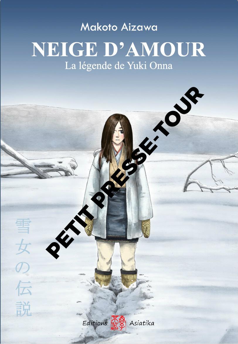 Neige d'amour, la légende de Yuki Onna - petit presse-tour