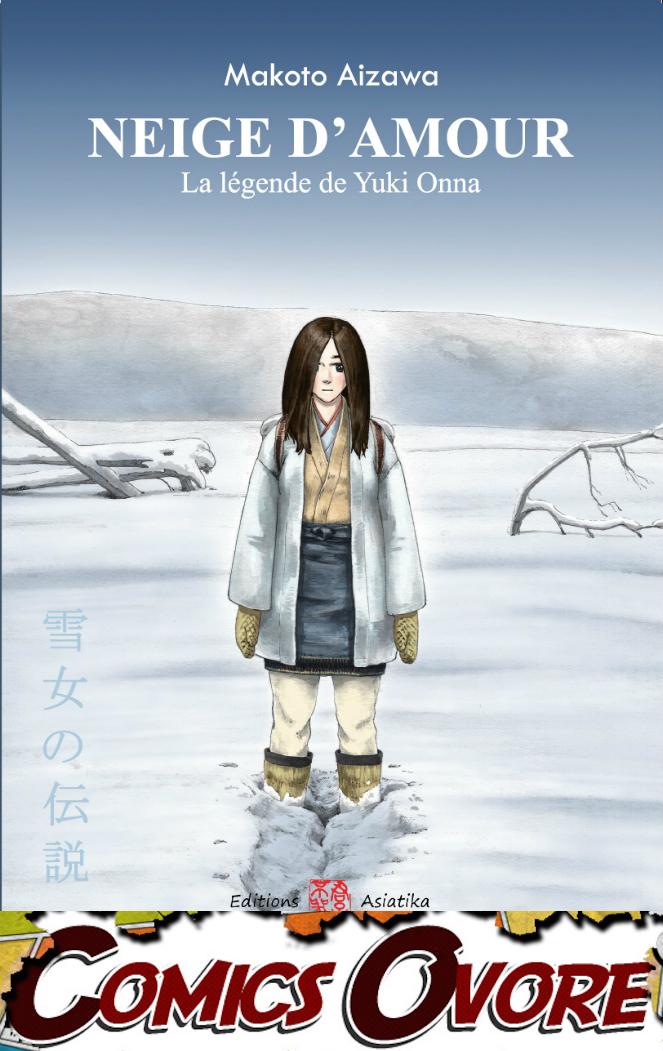 Robin Moulard, chroniqueur et BDvore sur le site ComicsOvore a reçu le flocon de Neige d'amour, la légende de Yuki Onna