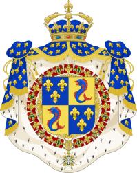 Son altesse ducale le Prince Jean de France et les 9 Feuillets fac-similés extraits du Magnificat In CL Linguas de l'abbaye de Lérins
