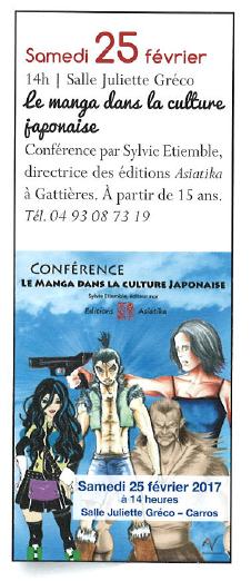 Editions Asiatika - Carros info janvier 2017